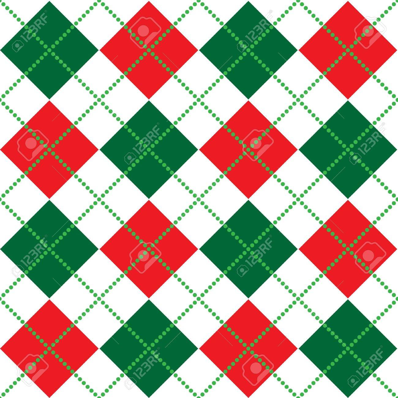 Pics photos merry christmas argyle twitter backgrounds - Background Illustration Of Red White And Green Argyle Pattern Stock Illustration 3324676