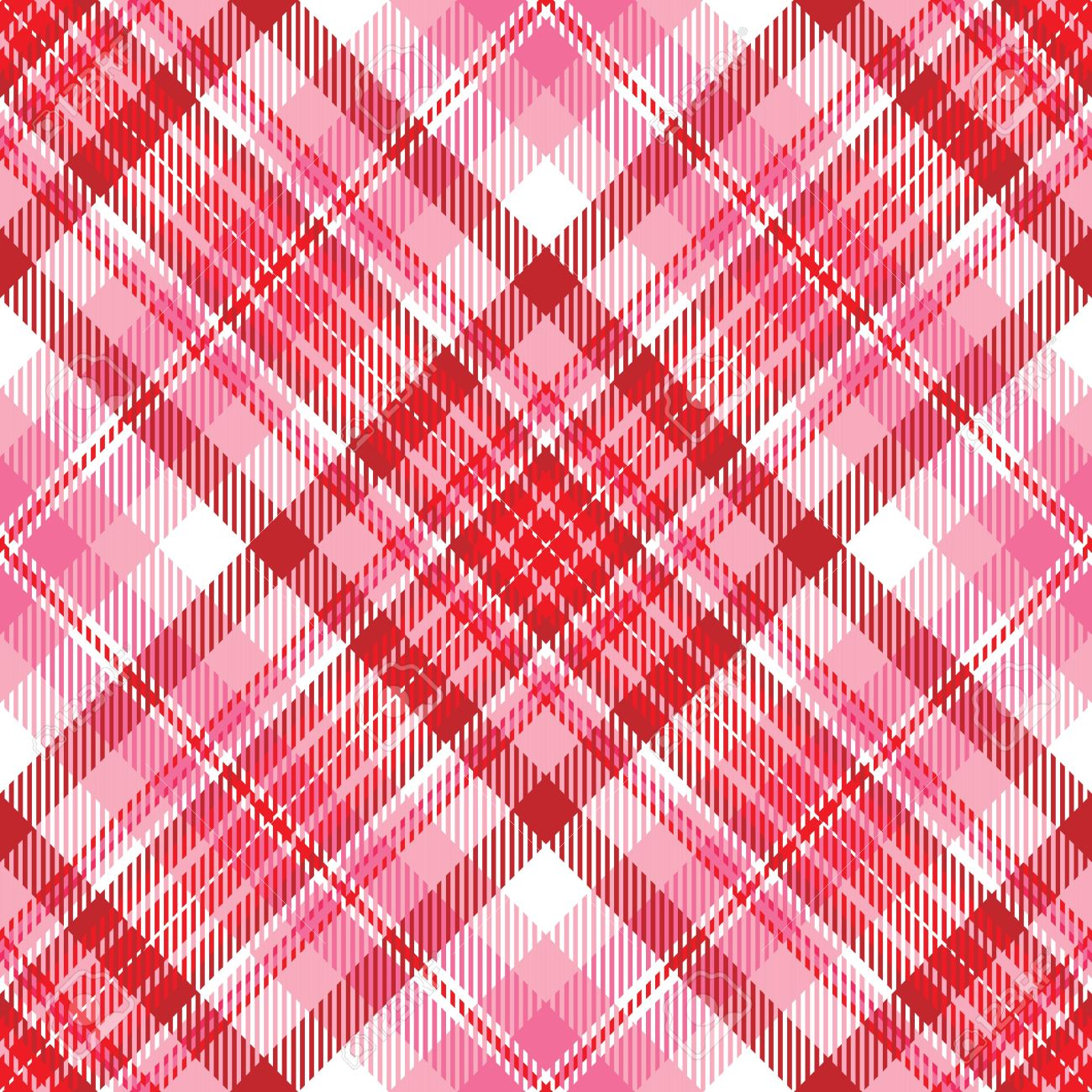 Plaid Background Pattern In Shades Of Red And Pink Stock Photo Picture And Royalty Free Image Image 4130404