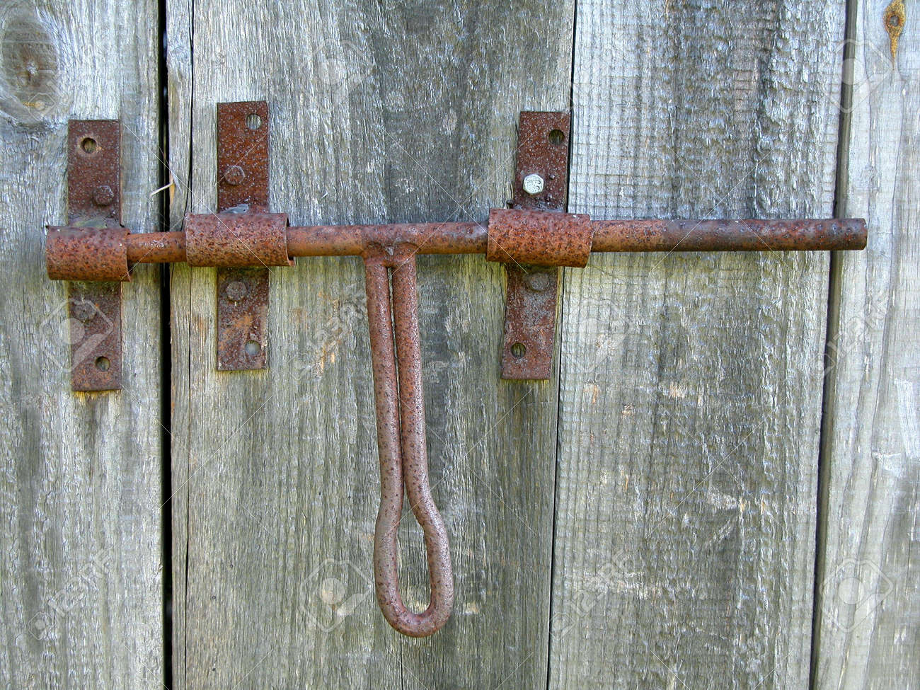 Old Barn Door Latch Stock Photo Picture And Royalty Free Image