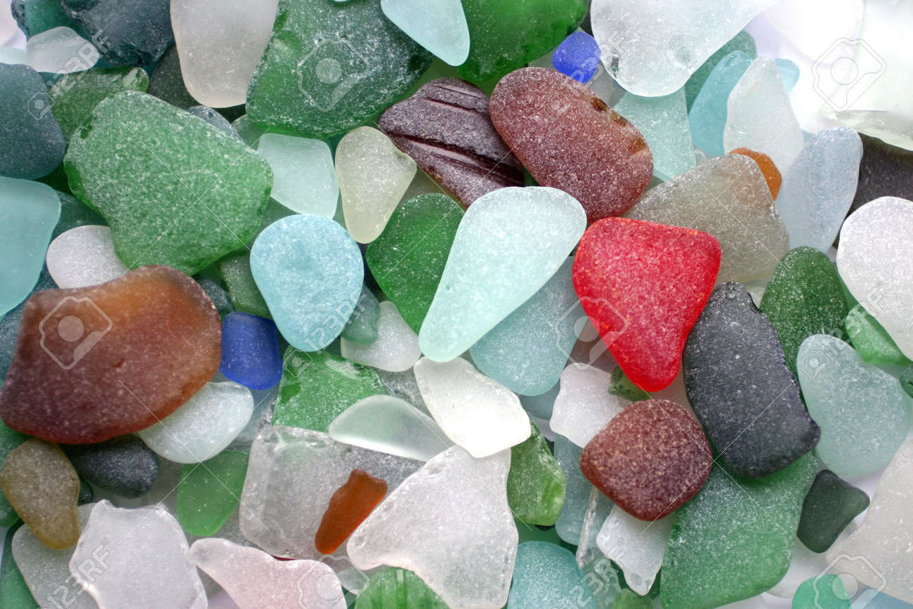Colorful Matted Glass Stones From Baltic Sea Lithuania Stock Photo Picture And Royalty Free Image Image 877683