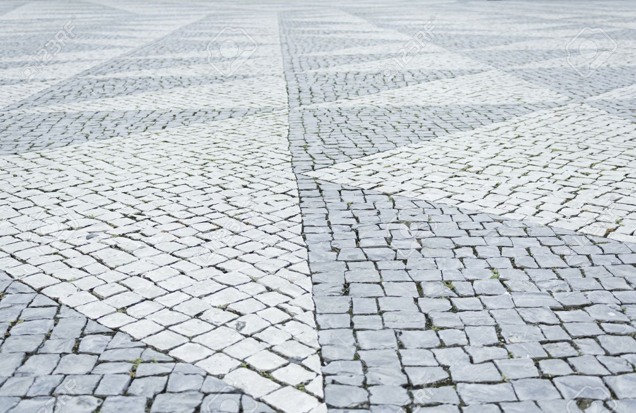 Floor Tiles In Urban Street, Building And Architecture Stock Photo ...