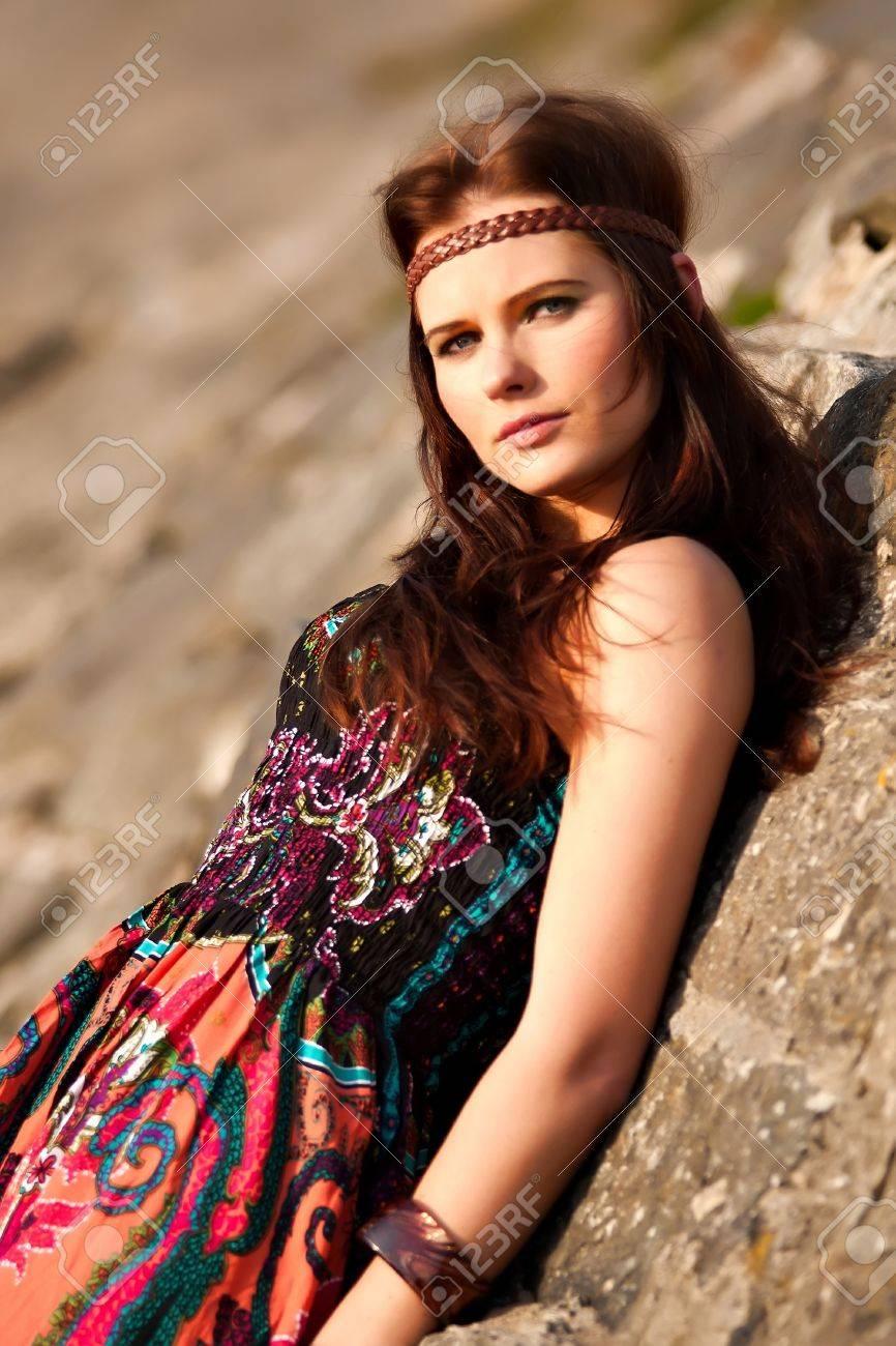 Young hippie girl photos 6