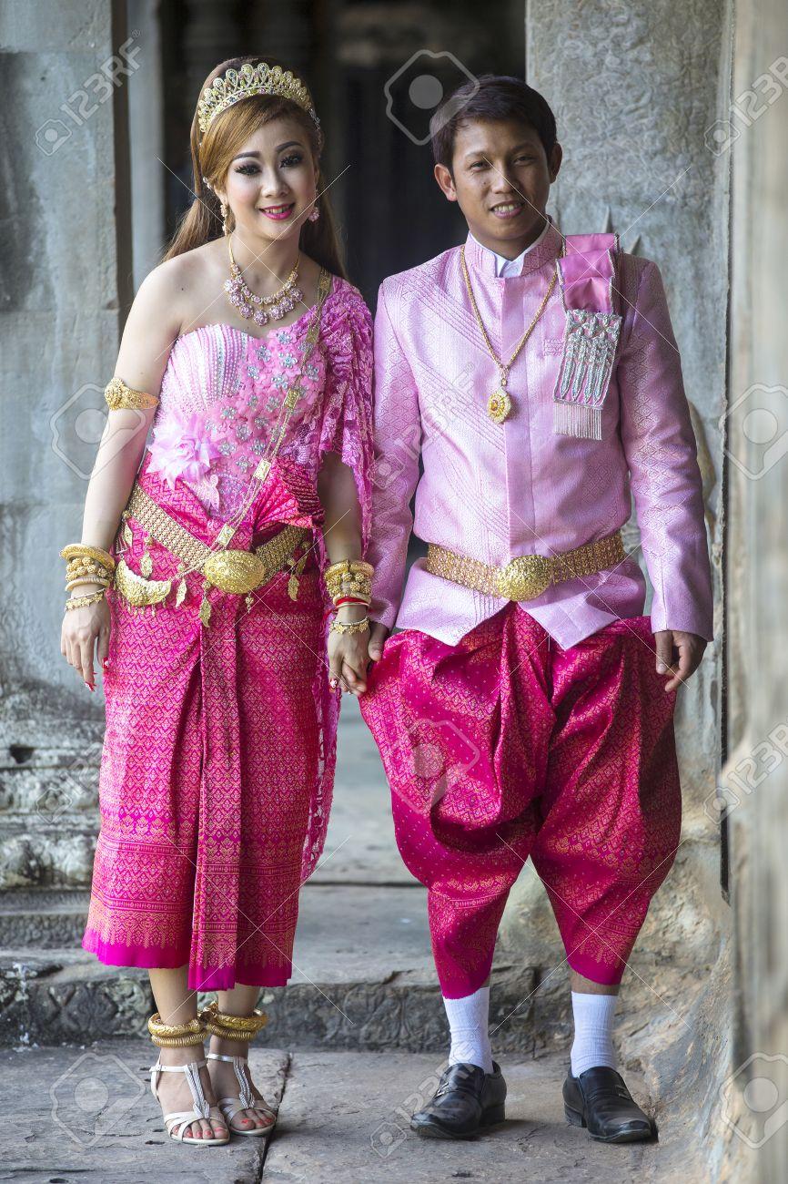 Tradiciones de la boda de Camboya — Cuadros