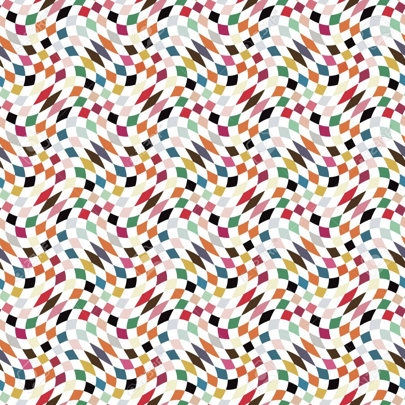 Abstract colorful geometric background  Seamless pattern Stock Photo - 19867824