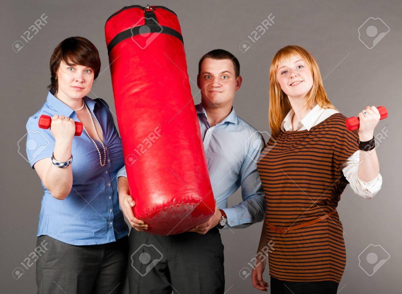 business trio Stock Photo - 9756584
