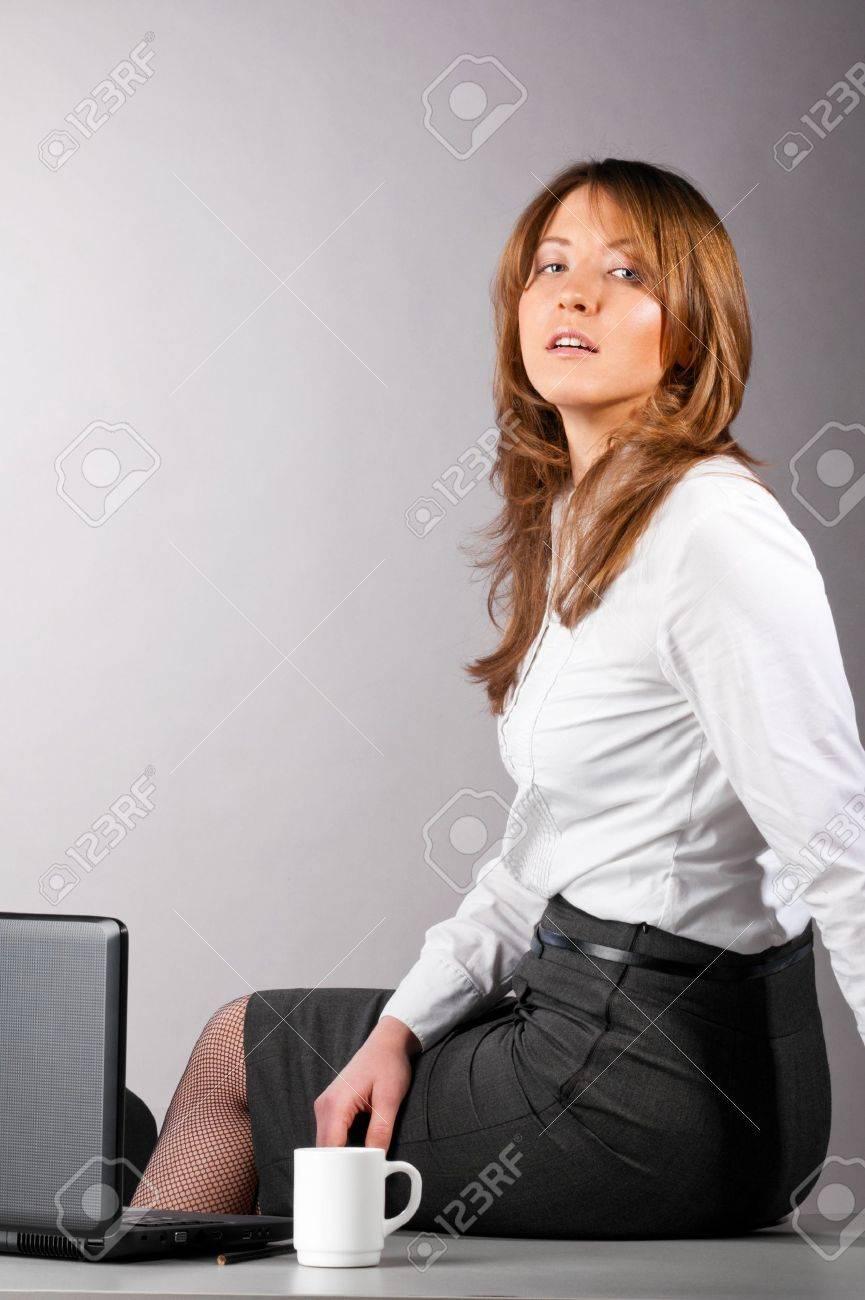 sexy business woman Stock Photo - 9999558