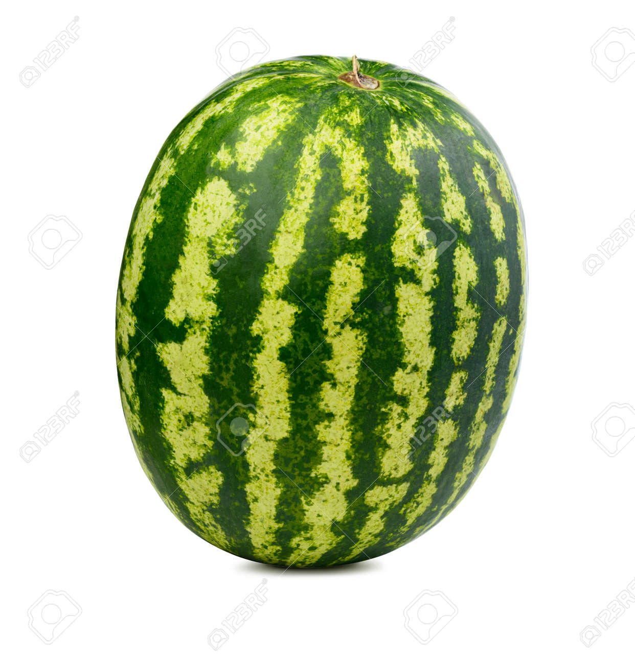 Fresh watermelon isolated. Organic water melon slice on white background. - 155940259
