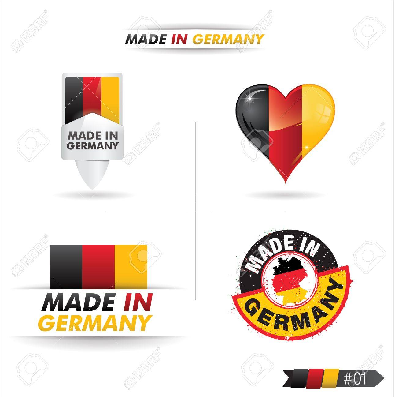 made in germany Stock Vector - 17645040