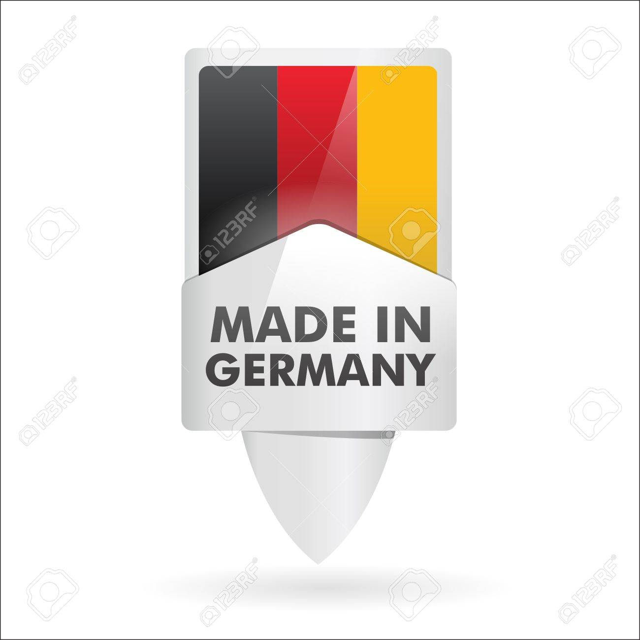 button   made in germany Stock Vector - 17560724