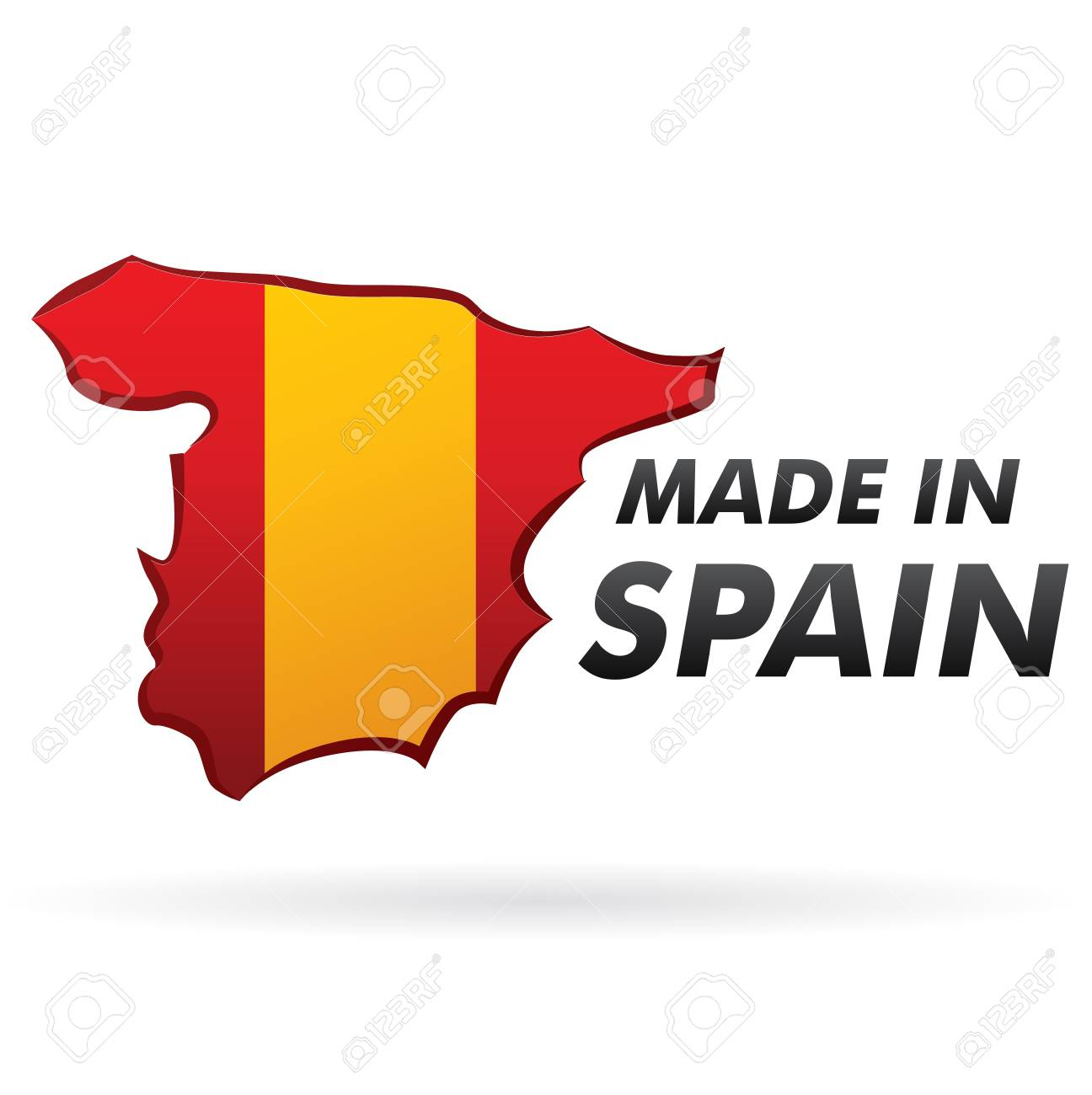 sale retail Made in spain Stock Vector - 17773428