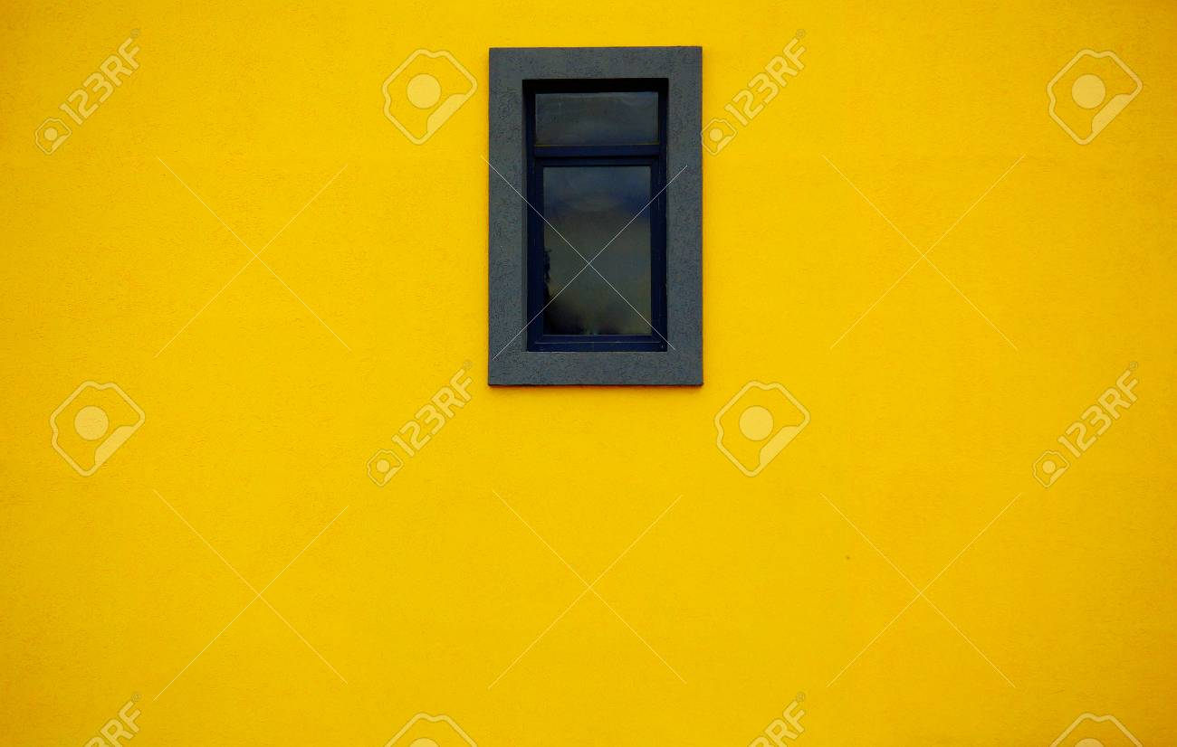 Window In The Wall Background Wallpaper Texture Colorful Yellow ...