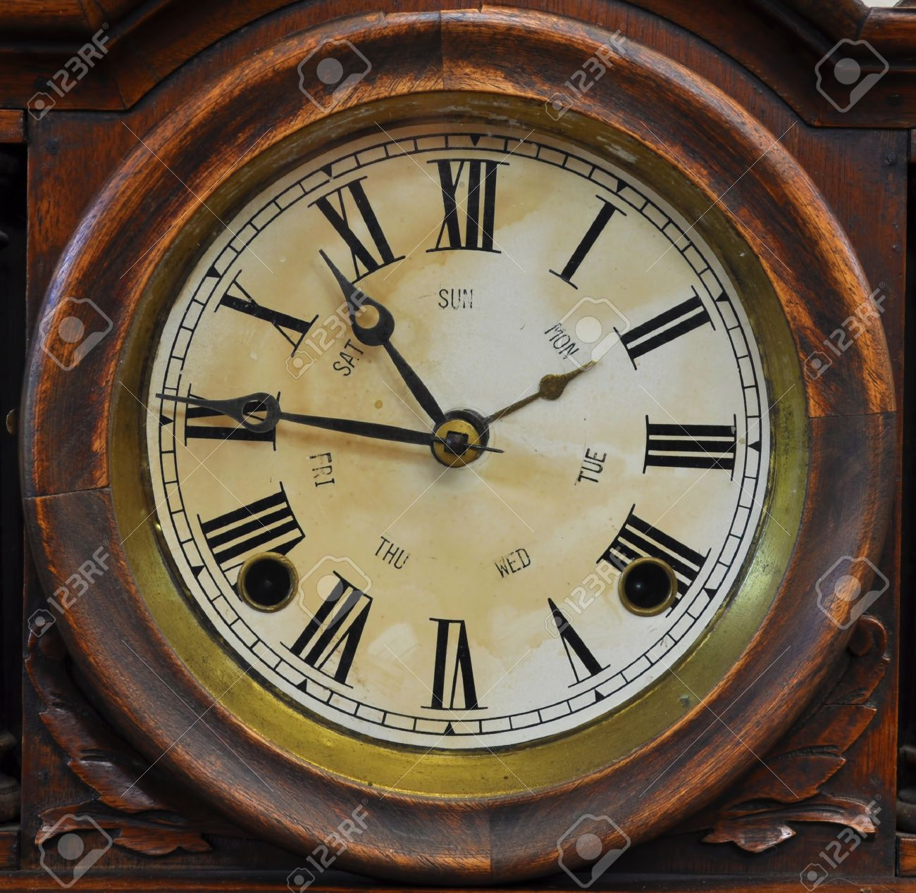 Antique Clock Stock Photography - Image: 7914612
