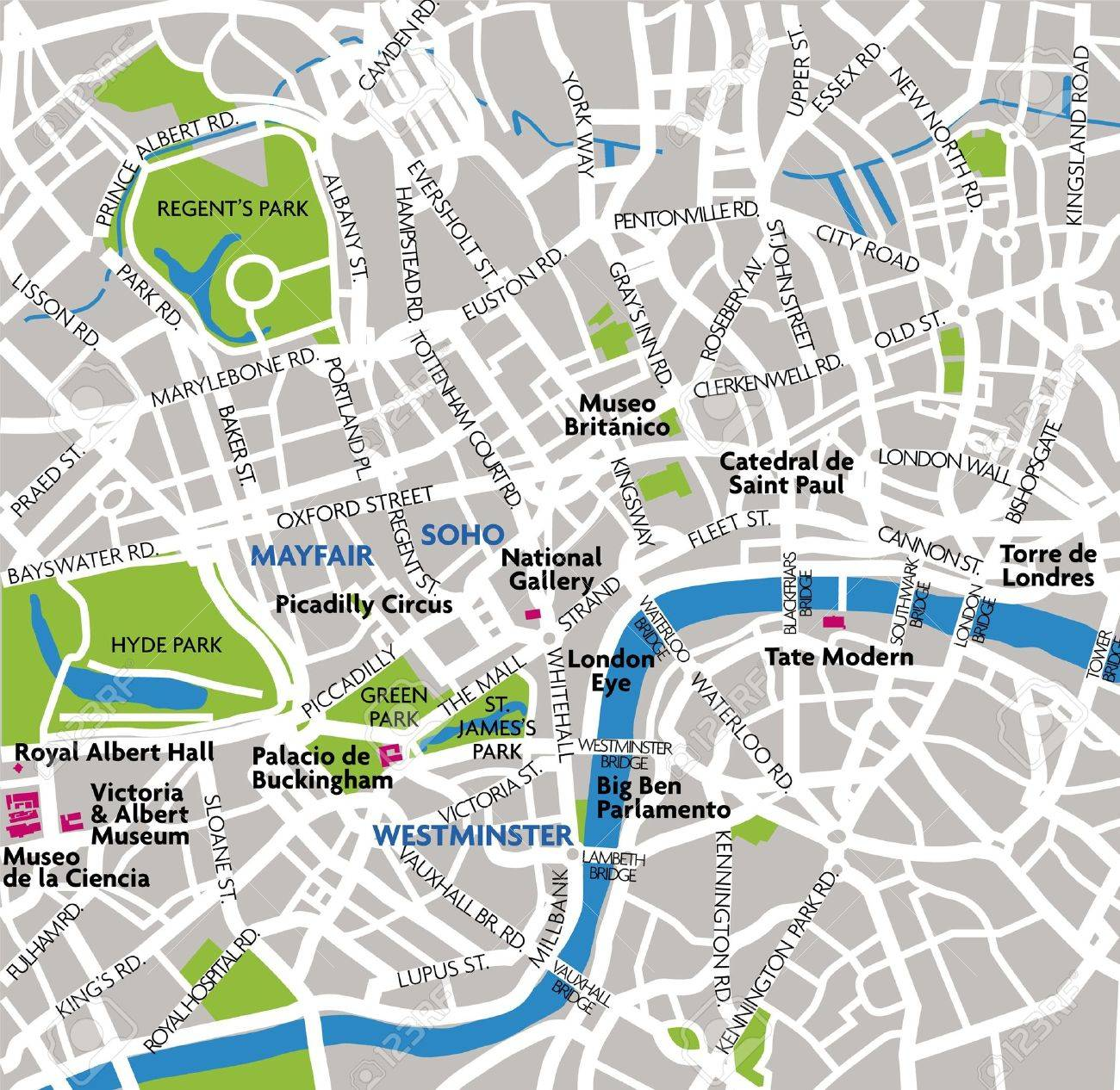 Free London Map.London Map Royalty Free Cliparts Vectors And Stock Illustration