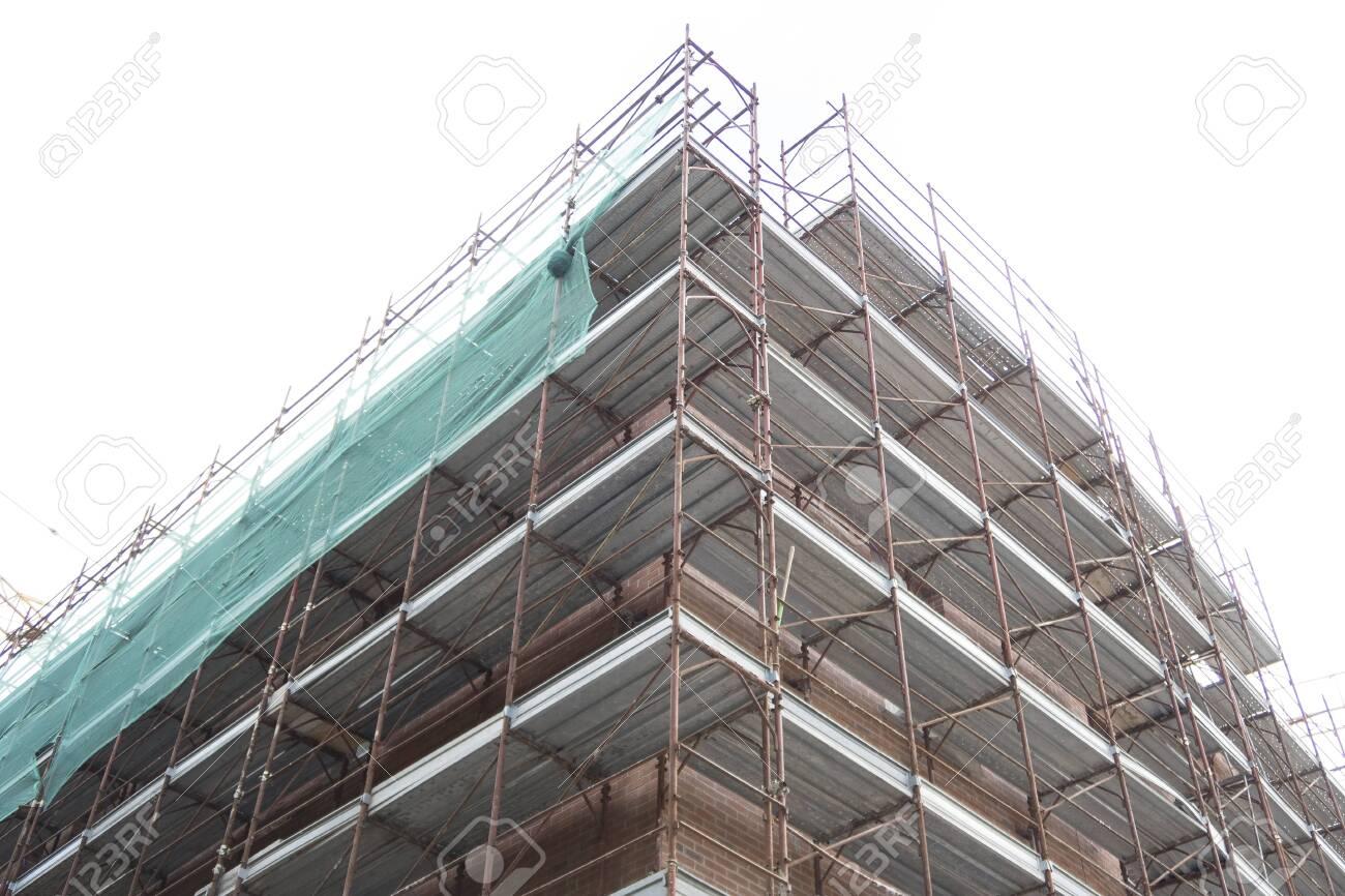 Detail of a building construction site. - 149207860