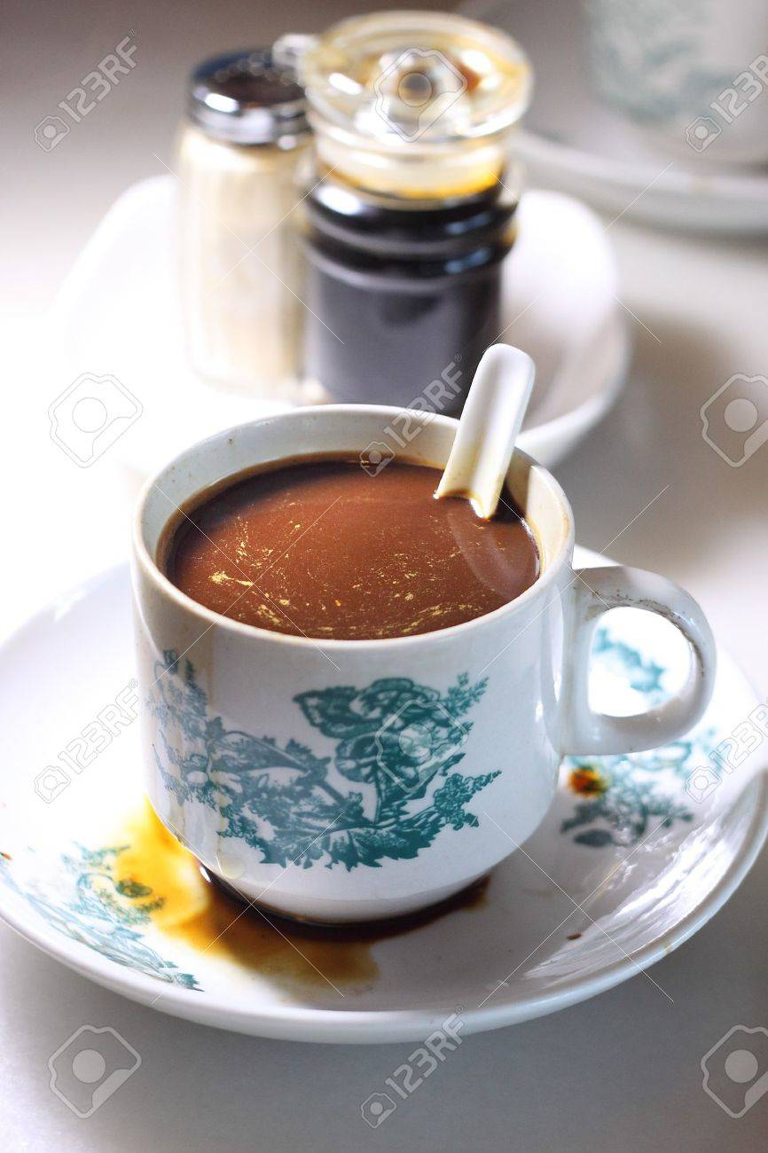 Traditional Chinese Coffee Stock Photo - 10516712