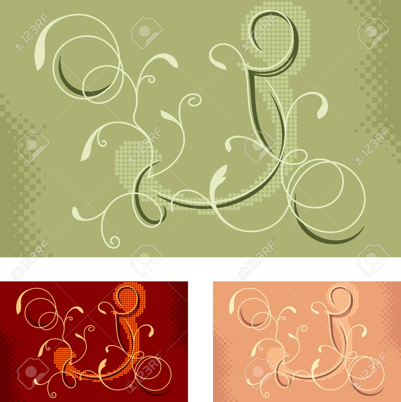 twisted ornament Stock Vector - 8001706