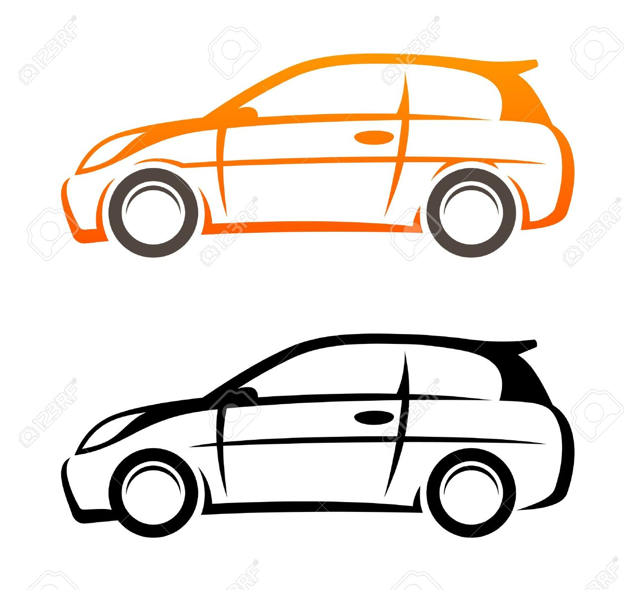 Car Sketch Royalty Free Cliparts, Vectors, And Stock Illustration ...