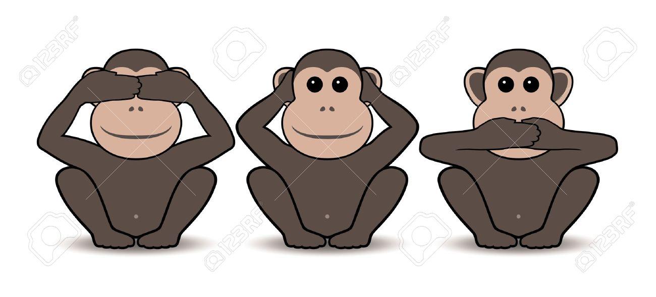 three monkeys images  Three Monkeys Royalty Free Cliparts, Vectors, And Stock Illustration ...