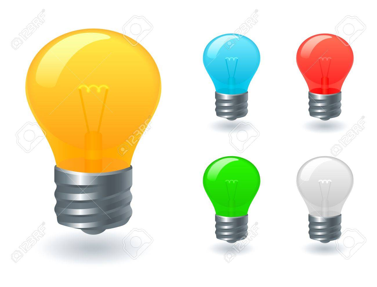 Light bulb icons - 11656166