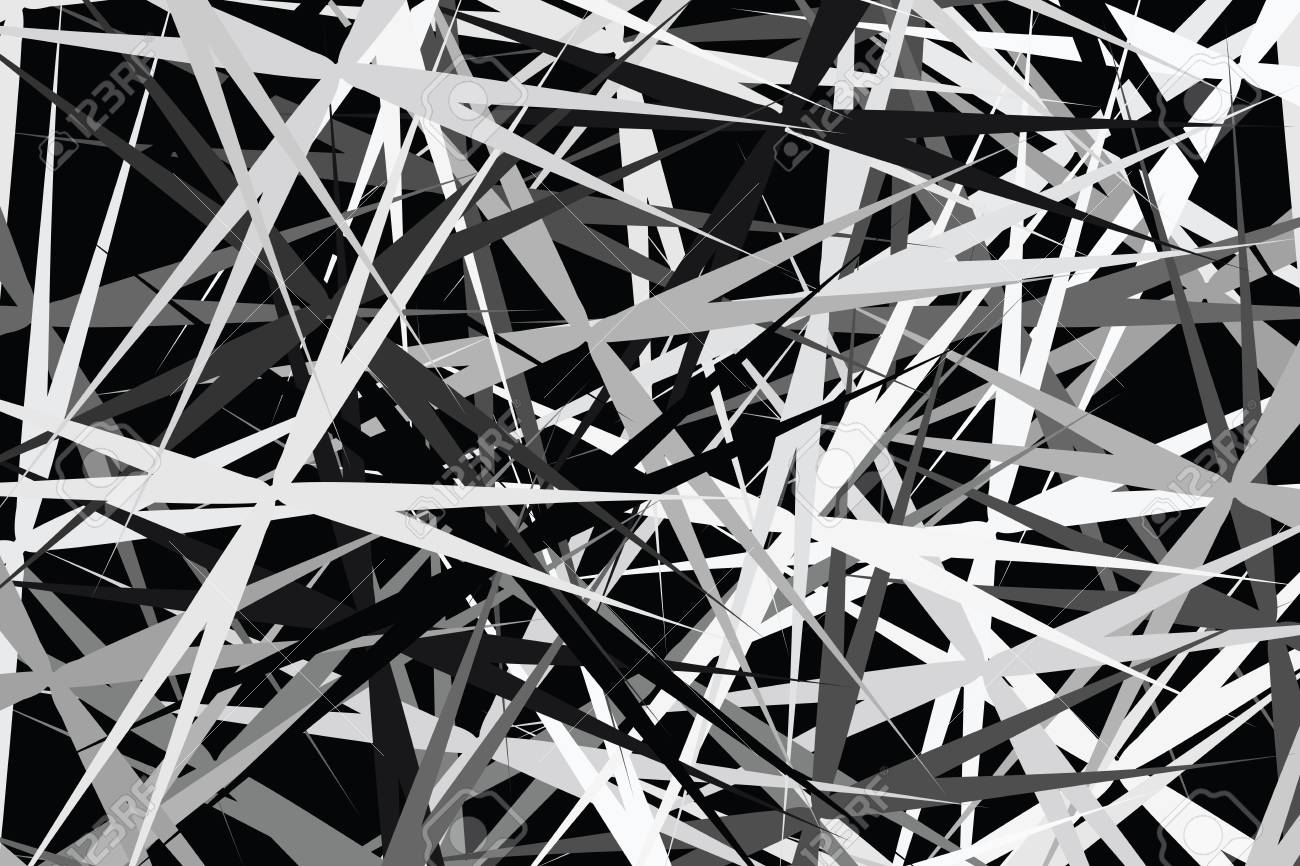 Abstract Black White Art Line Graphic For Fabric Design On Black Stock Photo Picture And Royalty Free Image Image 102349954