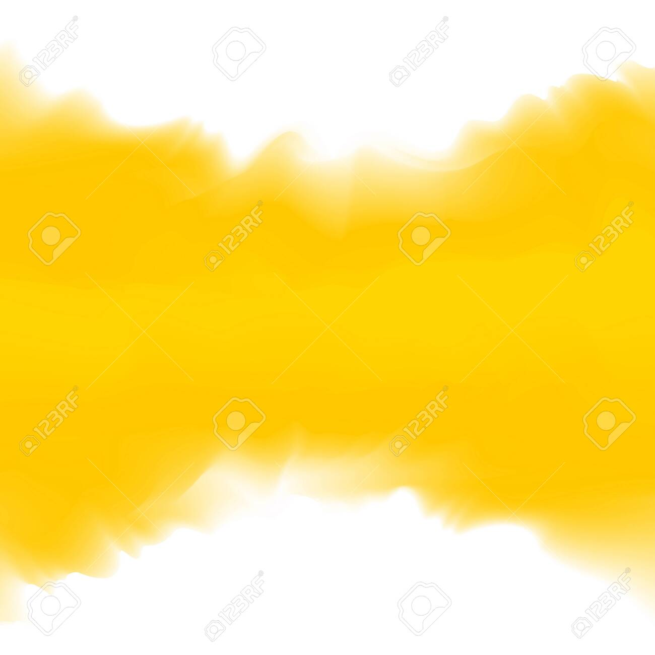 illustration yellow color soft in concept water color art style, abstract texture yellow colors painting art brush watercolor for background card and banner advertising, water color digital painting - 128699800