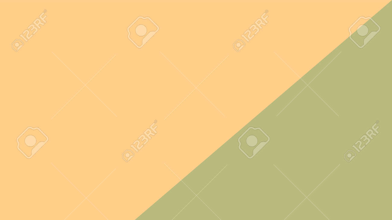 brown and soft green color pastel soft for banner background, simple yellow brown pastel color in top view for background - 166468076