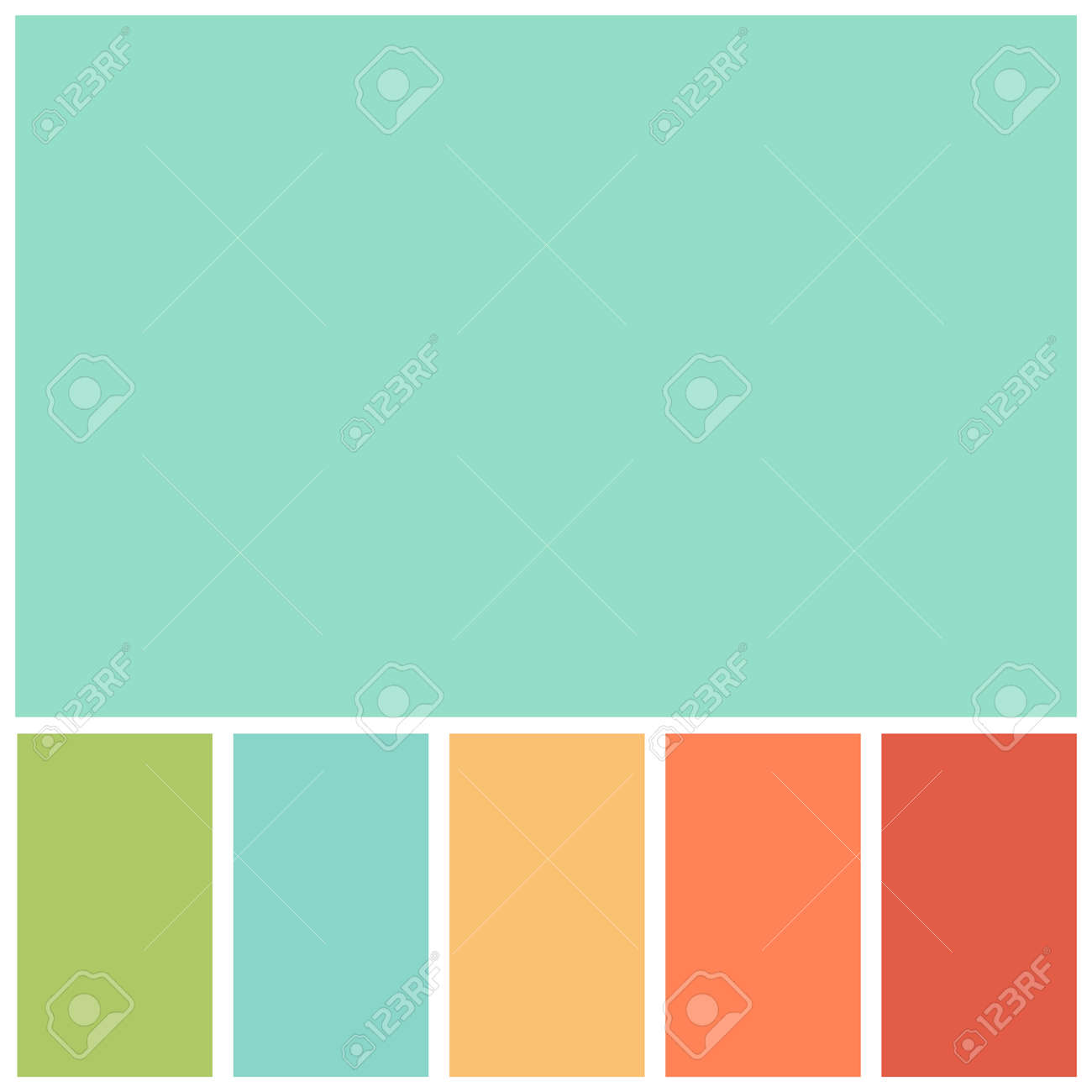 green colour palette soft pastel for template, simple green color soft for design background - 169183449