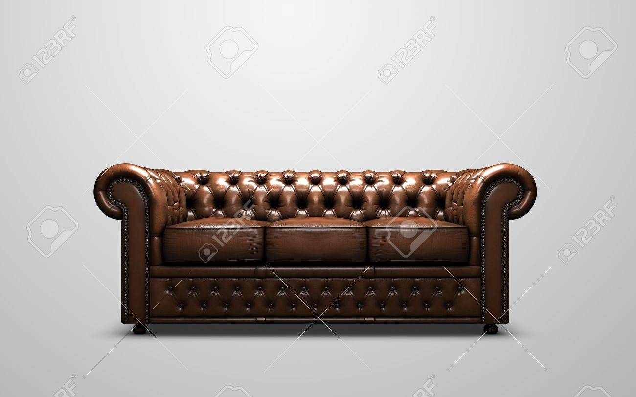 Chesterfield Antique Sofa Stock Photo Picture And Royalty Free