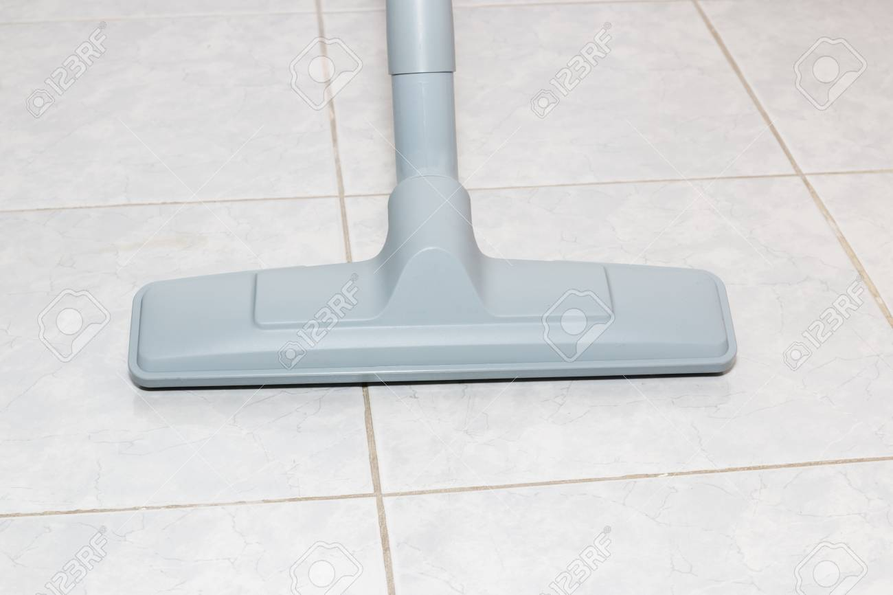 Brush Head Vacuum Cleaners On Tile Floors. Stock Photo, Picture And ...