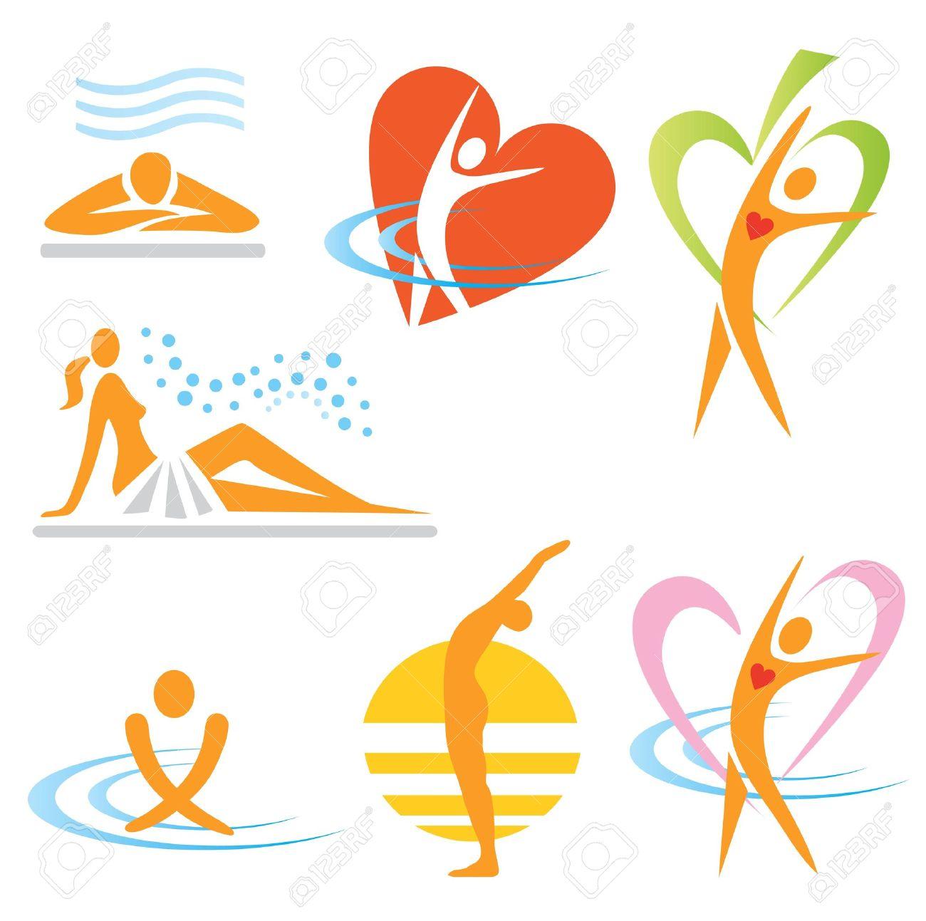 Spa wellness logo  Health And Wellness Stock Photos. Royalty Free Health And Wellness ...