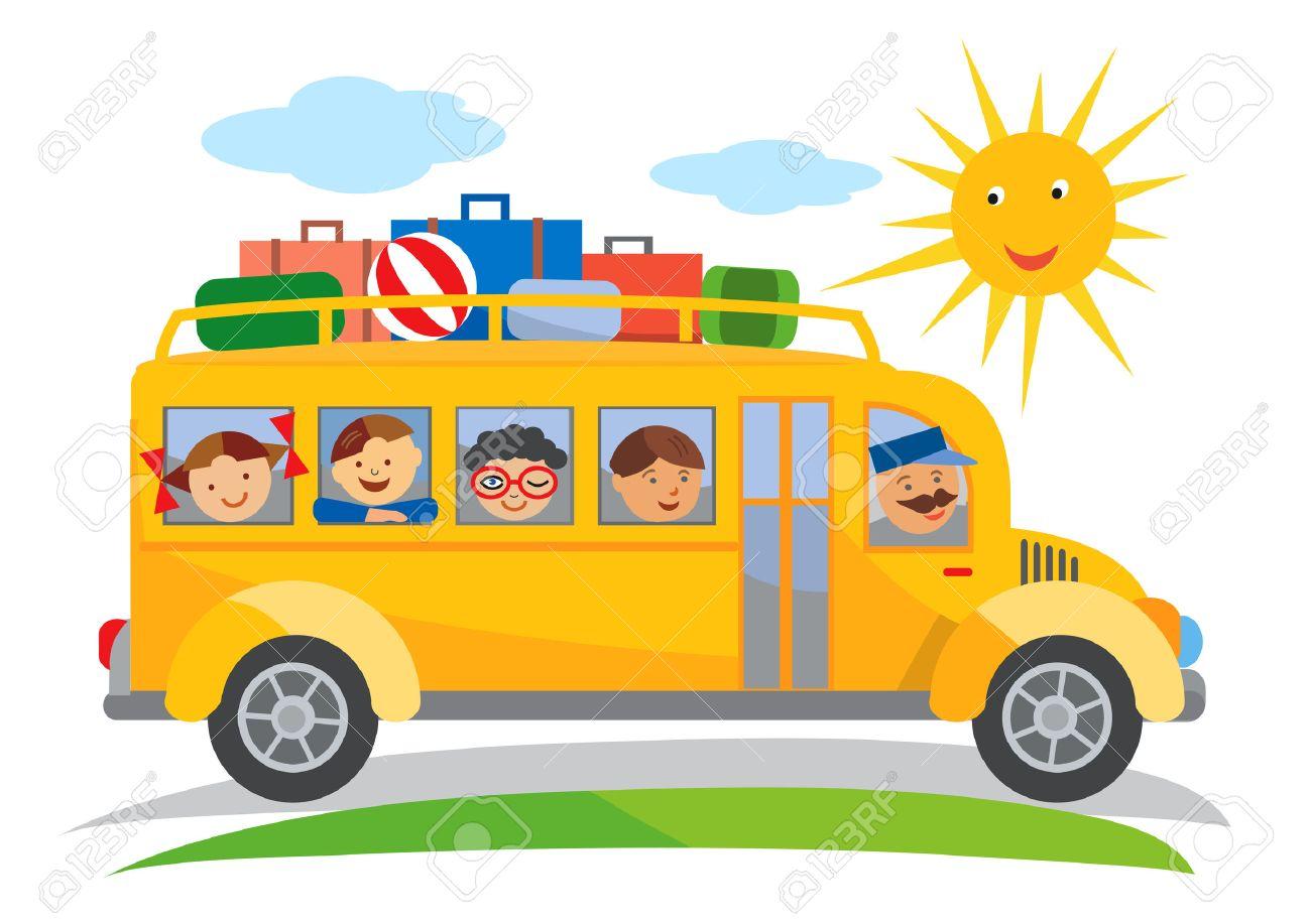 Famoso Hoja Para Colorear De Autobús Escolar Elaboración - Ideas ...