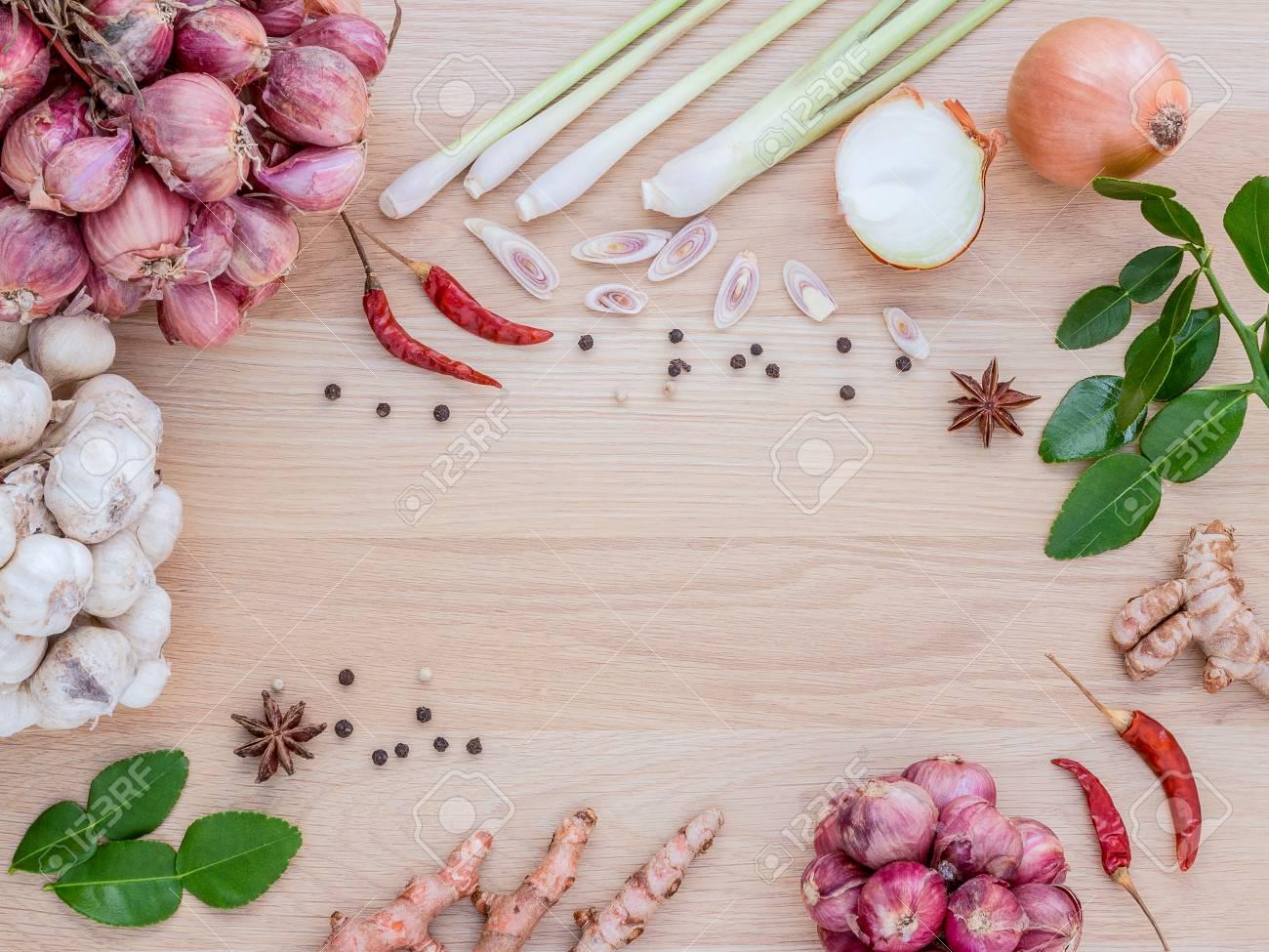 Especias Para Cocinar | Para Preparar Las Especias Para Cocinar Picante Tailandia Descansa