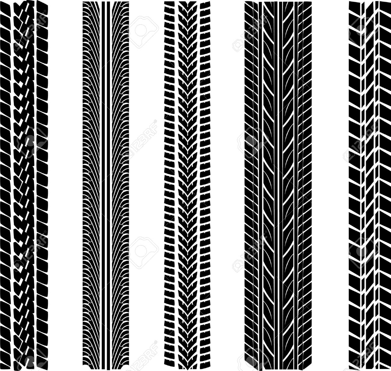 various tyre treads royalty free cliparts vectors and stock rh 123rf com tire tread vector graphic tire tread vector brush