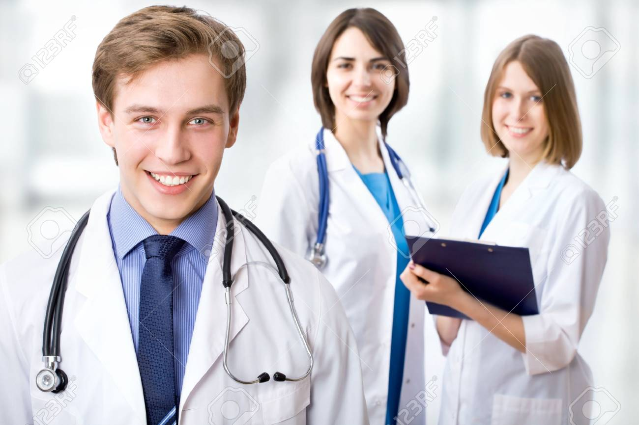 Medical team in the hospital Stock Photo - 15115504