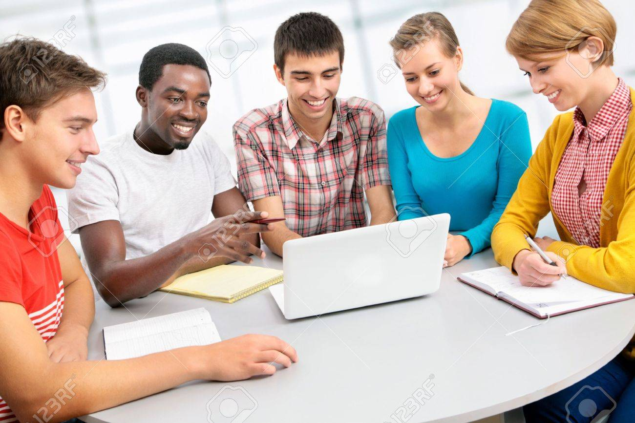 19729839-international-group-of-students