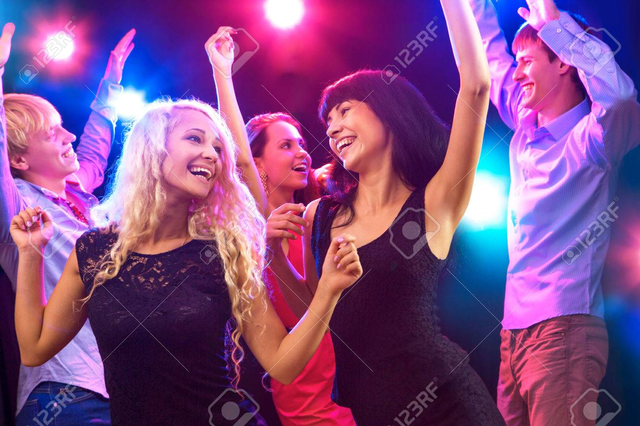 Young people having fun dancing at party. Stock Photo - 23222580