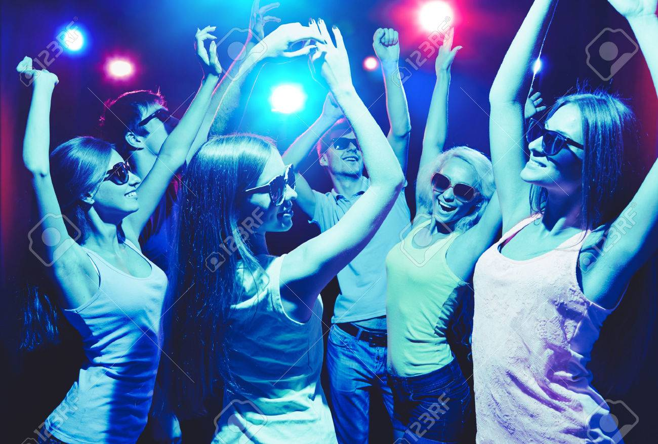 Young people having fun dancing at party. Stock Photo - 23220857