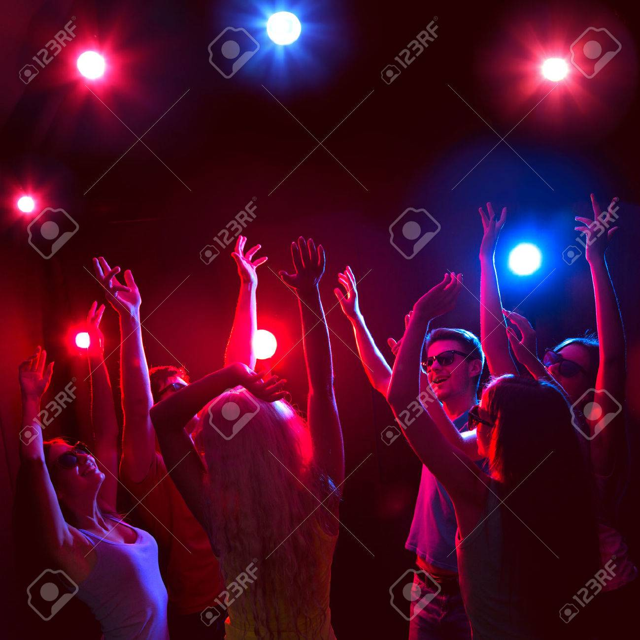 Young people having fun dancing at party. Stock Photo - 23221928