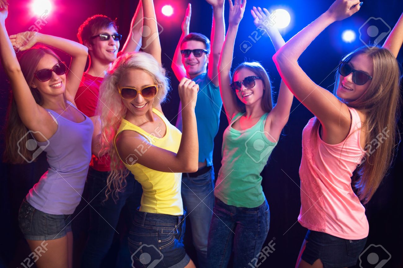 Young people having fun dancing at party. Stock Photo - 23221929