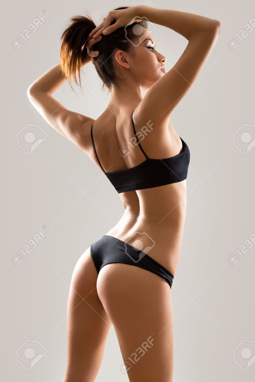 Fitness woman with a beautiful body Stock Photo - 24949913