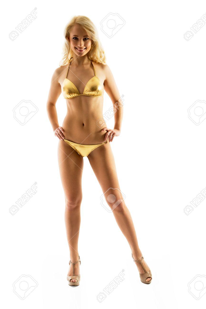 Gold Bikini Video
