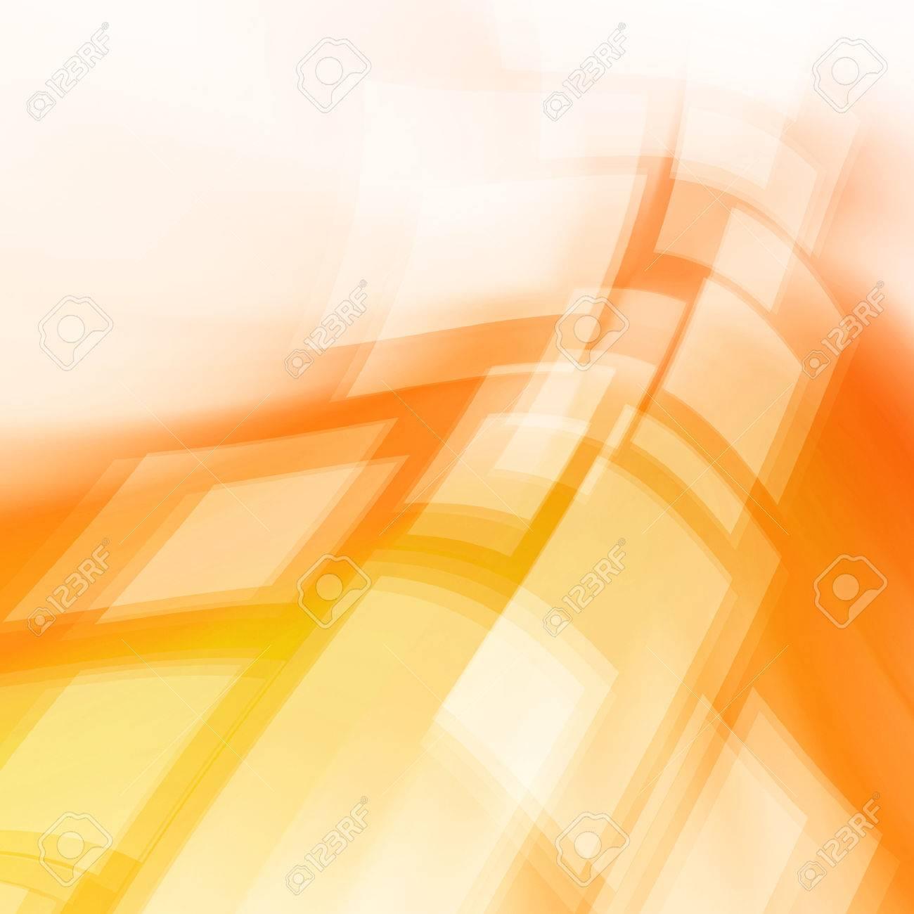 Orange Abstract Dynamic Art Futuristic Background Design - 37175533