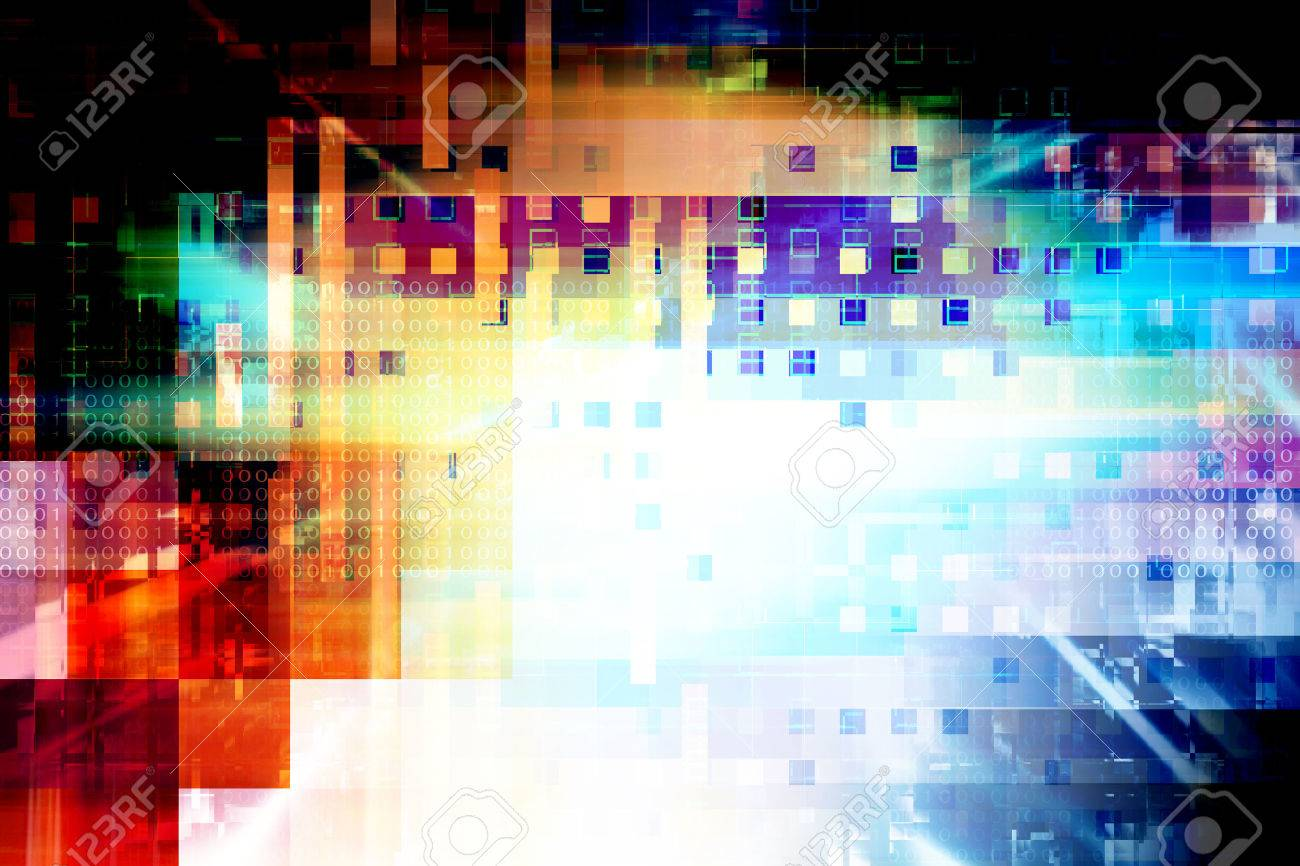 Futuristic Abstract Background - 50113245
