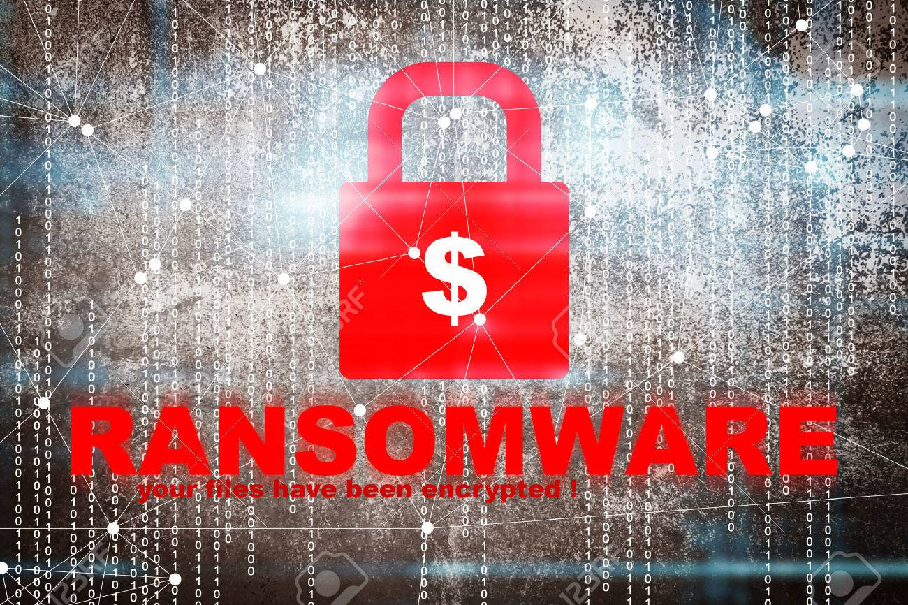 Ransomware,Cyber security concept - 81275790