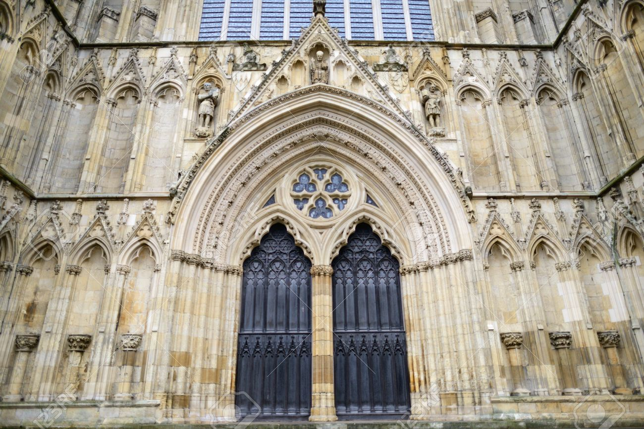 West doors of York Minster at York Minster Cathedral York England Stock Photo - & West Doors Of York Minster At York Minster Cathedral York ... Pezcame.Com