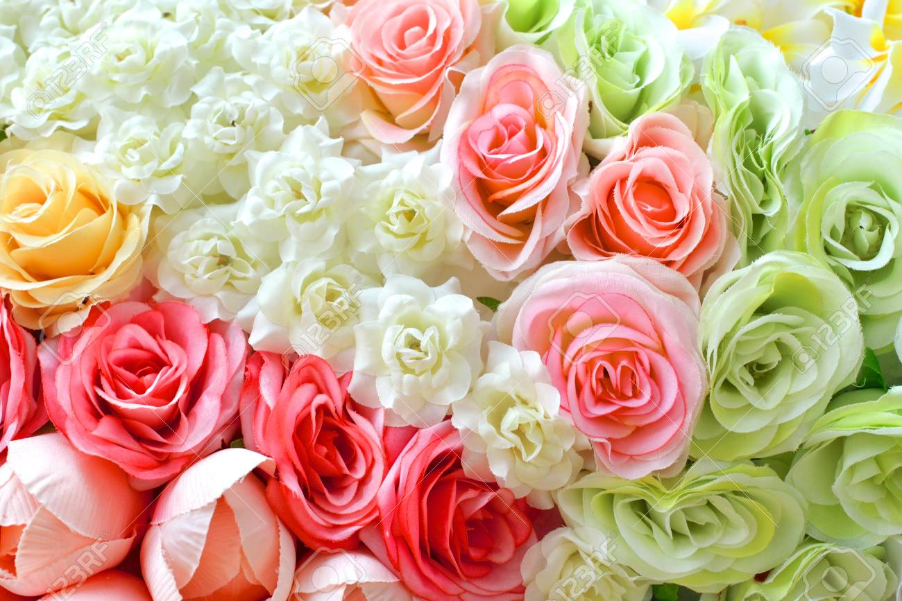 colorful roses background- wedding theme