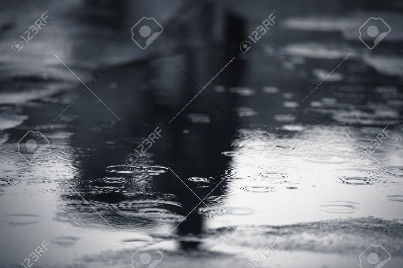 Rainy weather, Prague Stock Photo - 18947794