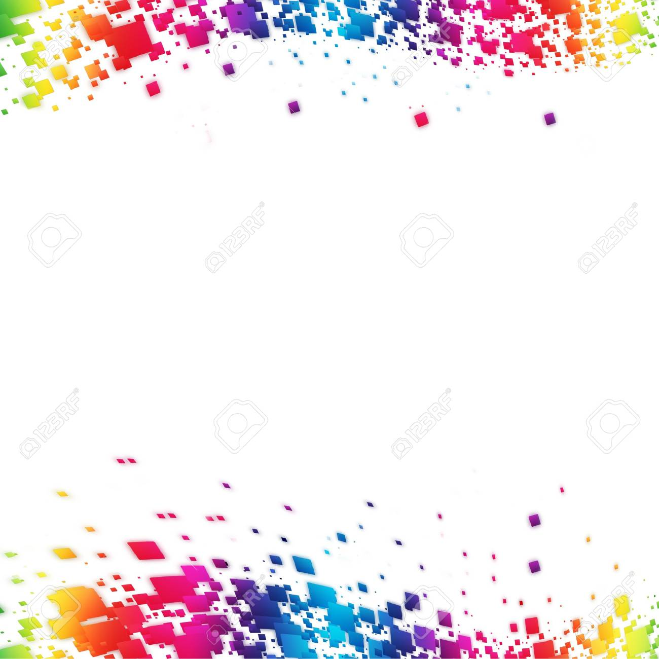 Colorful Abstract lights background Stock Photo - 16155929