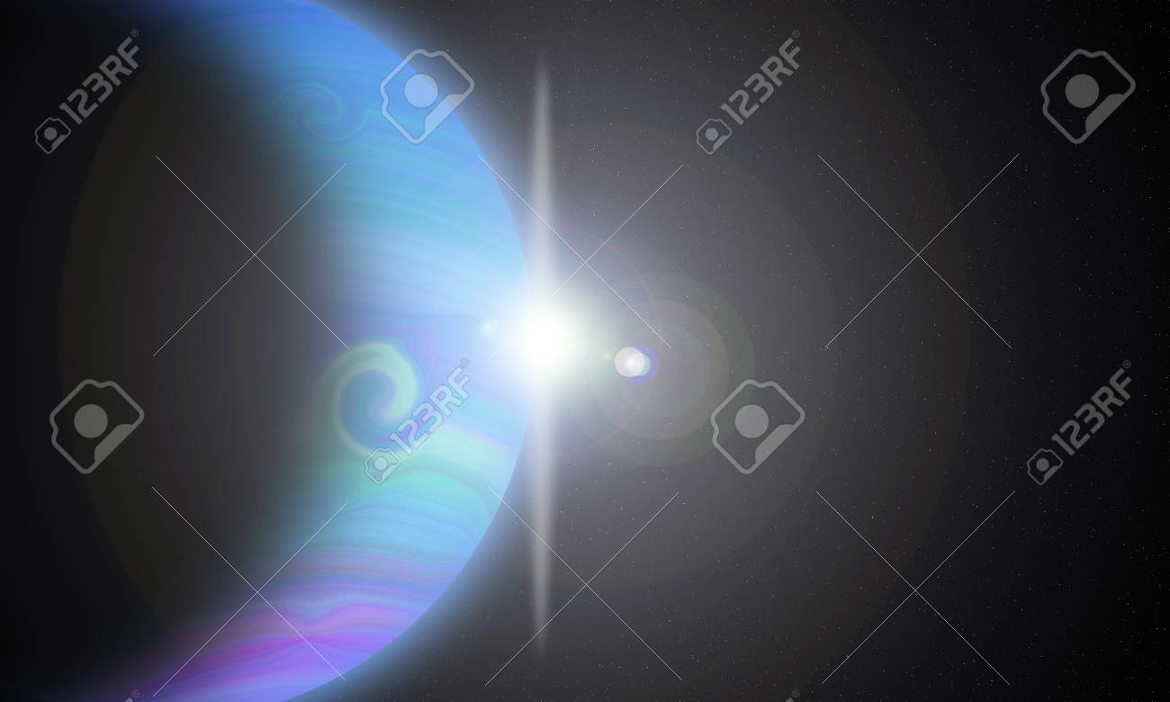 Gaseous Planets Stock Photo - 17116347