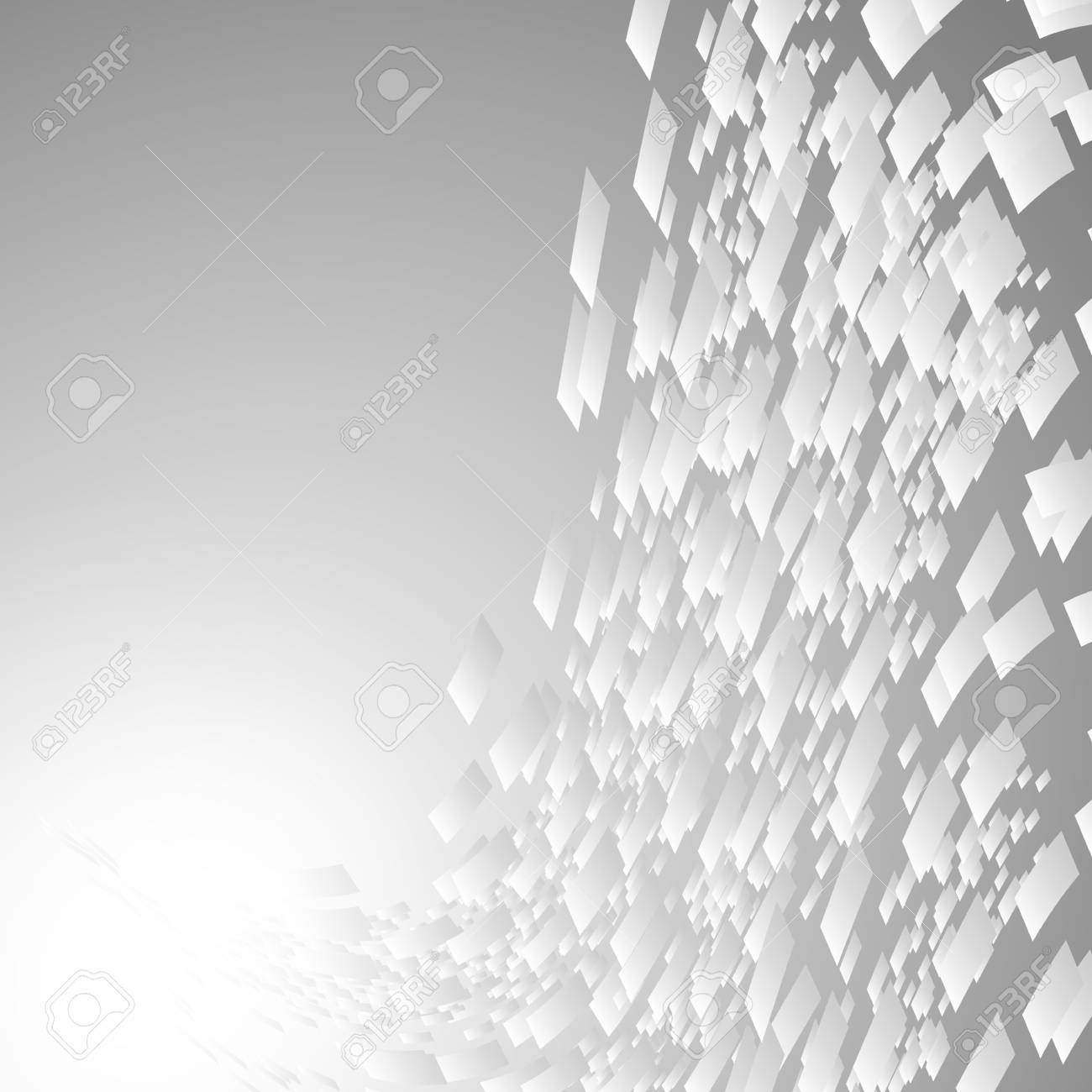 Abstract glass block lights on grey background. Stock Vector - 17690483